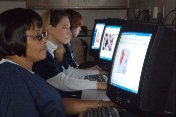 Health Information Management Technology students at work