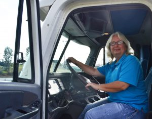 Judy Doggrell truck driving