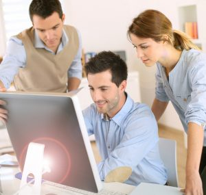 computer training students