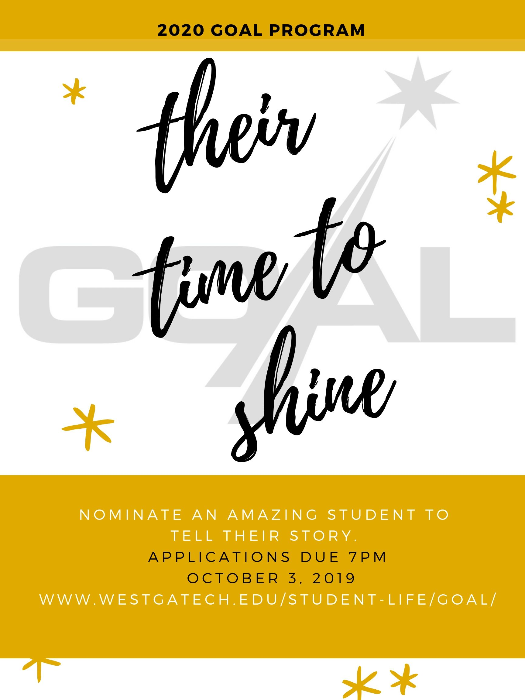 their time to shine flyer