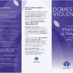 domestic violence brochure