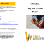 drug and alchohol policy