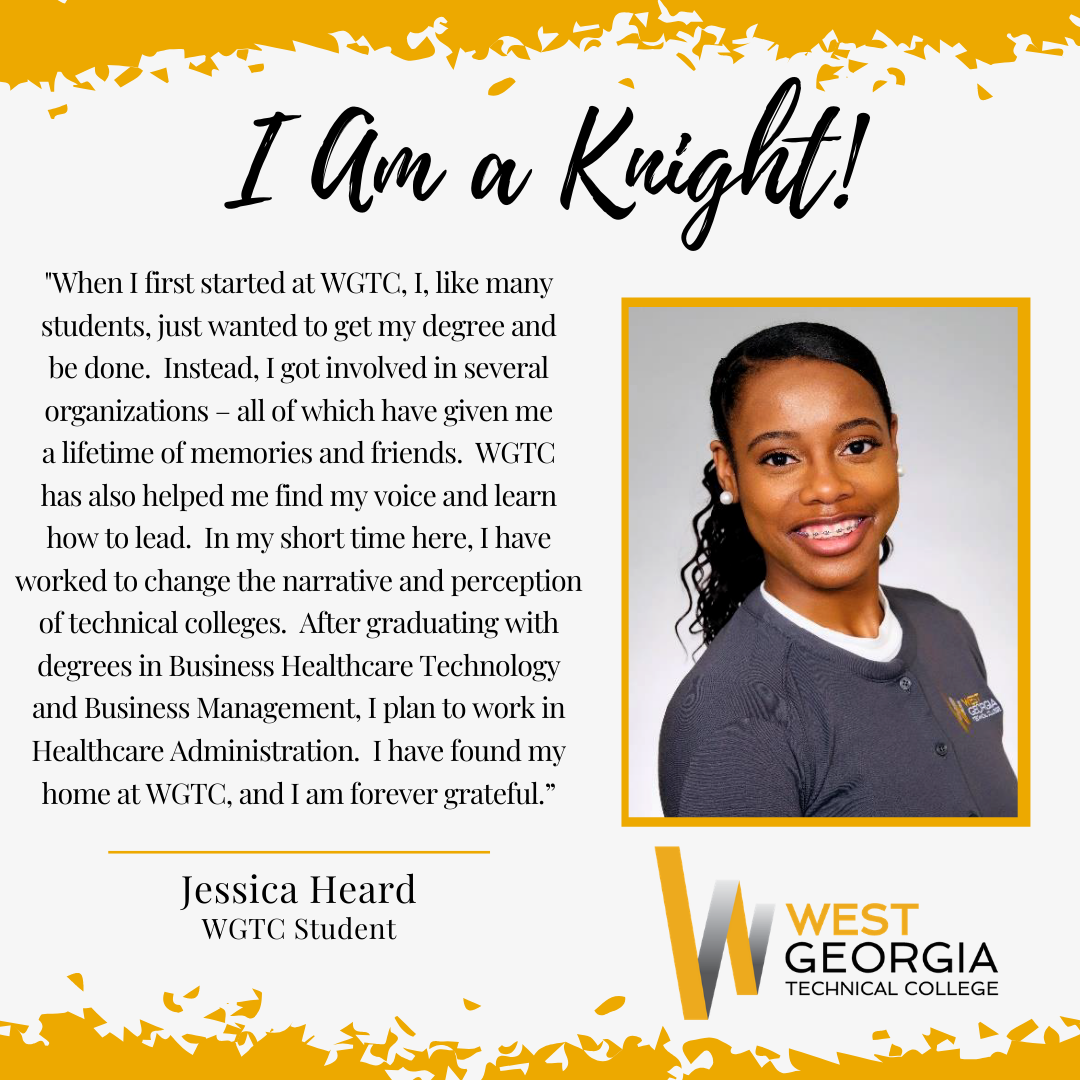 Jessica Heard I am a knight profile