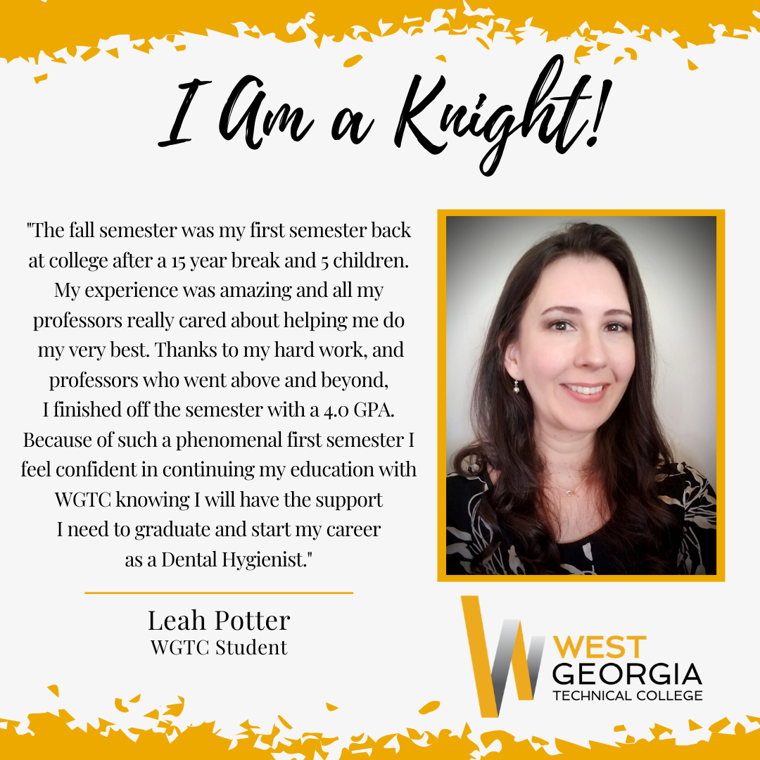 Leah Potter I am a knight profile