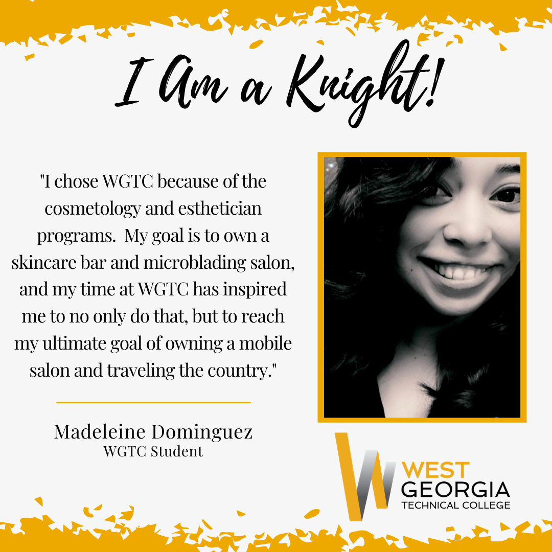 Madeleine Dominguez I am a knight profile