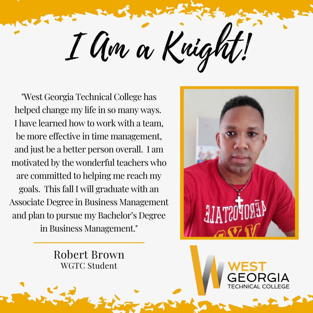 Robert Brown I am a knight profile