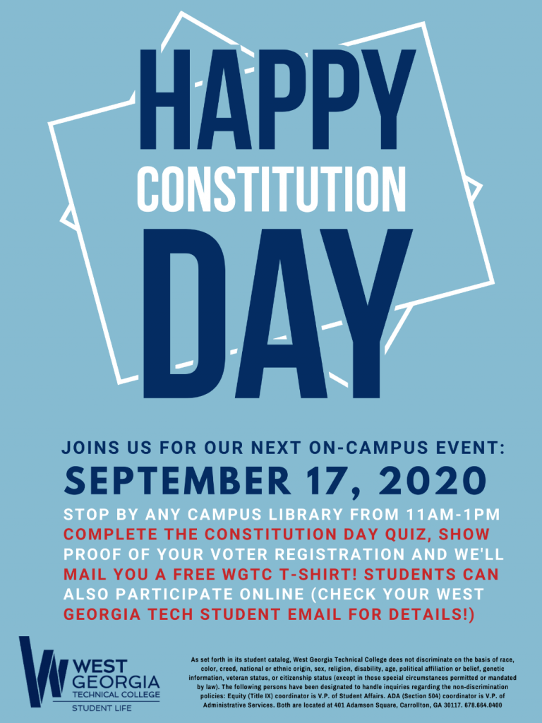 constitution day info flyer