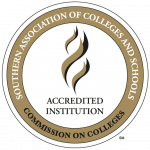 Southern association of colleges and schools commission on colleges accredited institution